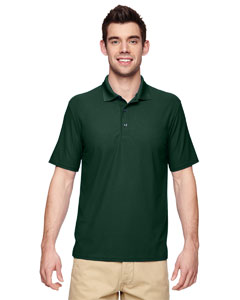 Forest Green Performance® Adult 5.6 oz. Double Piqué Polo