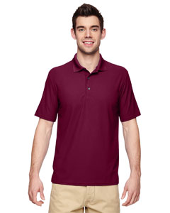 Maroon Performance® Adult 5.6 oz. Double Piqué Polo