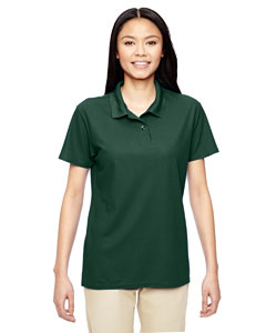 Forest Green Performance™ Ladies' 5.6 oz. Double Piqué Polo