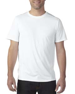White Adult Tech Short-Sleeve T-Shirt