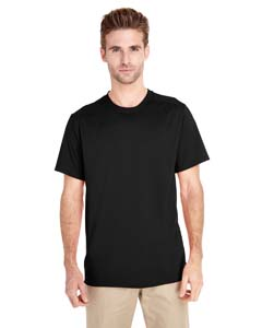 Black Adult Tech Short-Sleeve T-Shirt