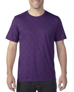 Marbled Purple Adult Tech Short-Sleeve T-Shirt