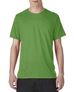 Electric Green Adult Tech Short-Sleeve T-Shirt
