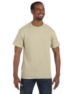 Sand Heavy Cotton 5.3 oz. T-Shirt