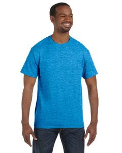Heather Sapphire Heavy Cotton 5.3 oz. T-Shirt