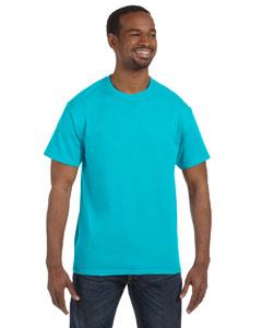 Tropical Blue Heavy Cotton 5.3 oz. T-Shirt