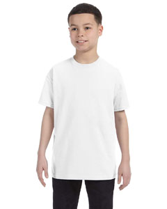 White Heavy Cotton™ Youth 5.3 oz. T-Shirt