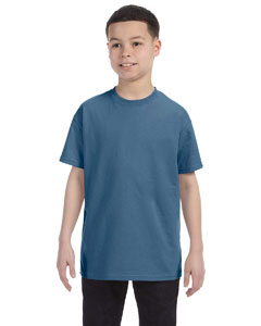 Indigo Blue Heavy Cotton™ Youth 5.3 oz. T-Shirt