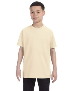 Natural Heavy Cotton™ Youth 5.3 oz. T-Shirt