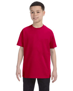 Garnet Heavy Cotton™ Youth 5.3 oz. T-Shirt
