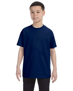 Navy Heavy Cotton™ Youth 5.3 oz. T-Shirt
