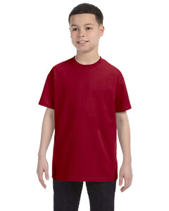 Cardinal Red Heavy Cotton™ Youth 5.3 oz. T-Shirt