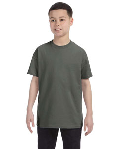 Military Green Heavy Cotton™ Youth 5.3 oz. T-Shirt