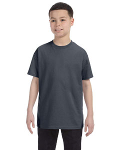 Dark Heather Heavy Cotton™ Youth 5.3 oz. T-Shirt