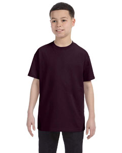 Dark Chocolate Heavy Cotton™ Youth 5.3 oz. T-Shirt
