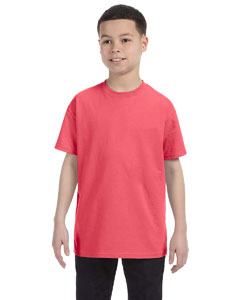 Coral Silk Heavy Cotton™ Youth 5.3 oz. T-Shirt