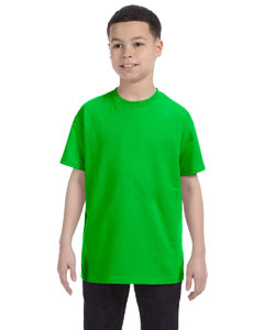 Electric Green Heavy Cotton™ Youth 5.3 oz. T-Shirt