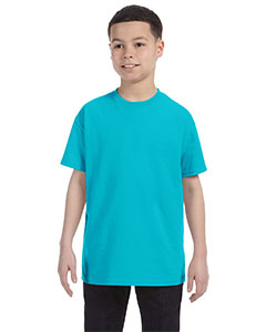 Tropical Blue Heavy Cotton™ Youth 5.3 oz. T-Shirt