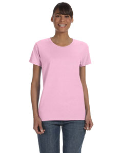 Light Pink Women's 5.3 oz. Heavy Cotton Missy Fit T-Shirt