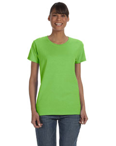 Lime Women's 5.3 oz. Heavy Cotton Missy Fit T-Shirt