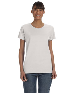 Ash Grey Women's 5.3 oz. Heavy Cotton Missy Fit T-Shirt
