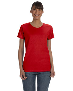 Red Women's 5.3 oz. Heavy Cotton Missy Fit T-Shirt