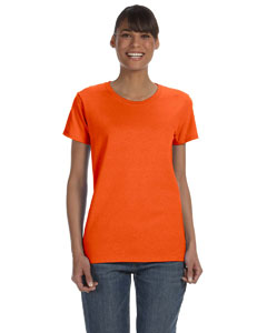 Orange Women's 5.3 oz. Heavy Cotton Missy Fit T-Shirt