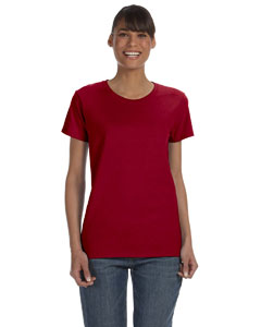 Cardinal Red Women's 5.3 oz. Heavy Cotton Missy Fit T-Shirt