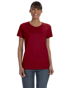 Antique Cherry Red Women's 5.3 oz. Heavy Cotton Missy Fit T-Shirt