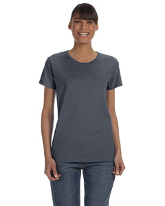 Dark Heather Women's 5.3 oz. Heavy Cotton Missy Fit T-Shirt