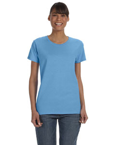 Carolina Blue Women's 5.3 oz. Heavy Cotton Missy Fit T-Shirt