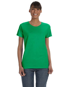 Irish Green Women's 5.3 oz. Heavy Cotton Missy Fit T-Shirt