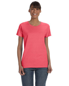 Coral Silk Women's 5.3 oz. Heavy Cotton Missy Fit T-Shirt
