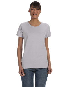 Sport Grey Women's 5.3 oz. Heavy Cotton Missy Fit T-Shirt