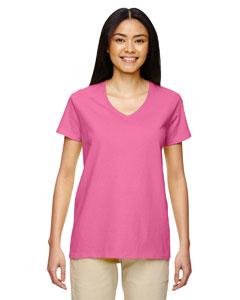 Azalea Heavy Cotton™ Ladies' 5.3 oz. V-Neck T-Shirt