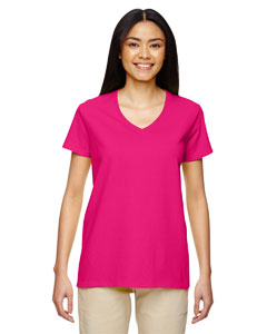 Heliconia Heavy Cotton™ Ladies' 5.3 oz. V-Neck T-Shirt