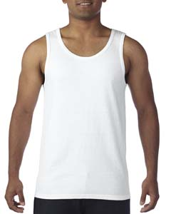 White Heavy Cotton Tank Top