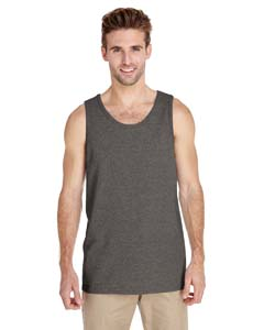 Graphite Heather Heavy Cotton Tank Top