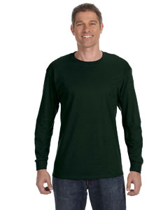 Forest Green Heavy Cotton™ 5.3 oz. Long-Sleeve T-Shirt