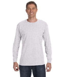 Ash Grey Heavy Cotton™ 5.3 oz. Long-Sleeve T-Shirt