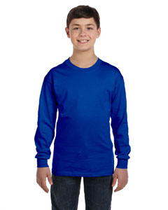 Royal Heavy Cotton™ Youth 5.3 oz. Long-Sleeve T-Shirt