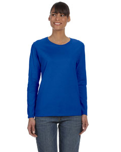 Royal Women's 5.3 oz. Heavy Cotton Missy Fit Long-Sleeve T-Shirt
