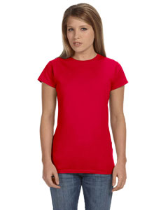 Red Women's 4.5 oz. SoftStyle Junior Fit T-Shirt