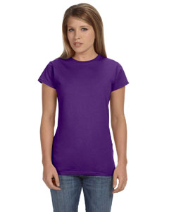 Purple Women's 4.5 oz. SoftStyle Junior Fit T-Shirt