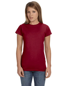 Antque Cherry Red Women's 4.5 oz. SoftStyle Junior Fit T-Shirt