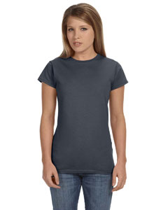 Dark Heather Women's 4.5 oz. SoftStyle Junior Fit T-Shirt