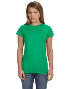 Irish Green Women's 4.5 oz. SoftStyle Junior Fit T-Shirt
