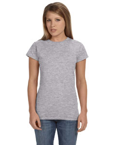 Sport Grey Women's 4.5 oz. SoftStyle Junior Fit T-Shirt