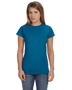 Antque Sapphire Women's 4.5 oz. SoftStyle Junior Fit T-Shirt