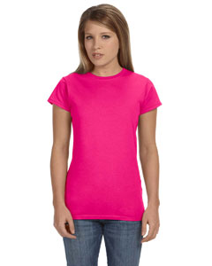 Antque Heliconia Women's 4.5 oz. SoftStyle Junior Fit T-Shirt